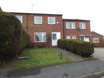 2 Bedrooms Terraced House for sale in Holme Hall Crescent, Chesterfield, Derbyshire