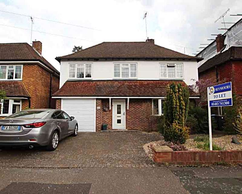 4 Bedrooms Detached House for sale in Hamilton Avenue, Pyrford, Surrey, GU22