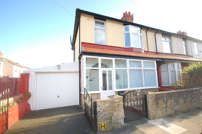 3 Bedrooms End Of Terrace House for sale in Hudson Road, Blackpool