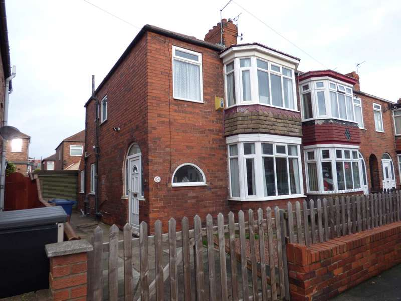 3 Bedrooms End Of Terrace House for sale in Sandringham Road, Redcar