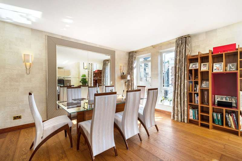 4 Bedrooms Flat for sale in Tedworth Square, London, SW3