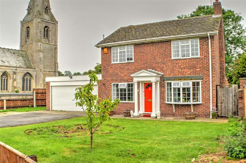 4 Bedrooms Detached House for sale in St Johns Close, Leasingham