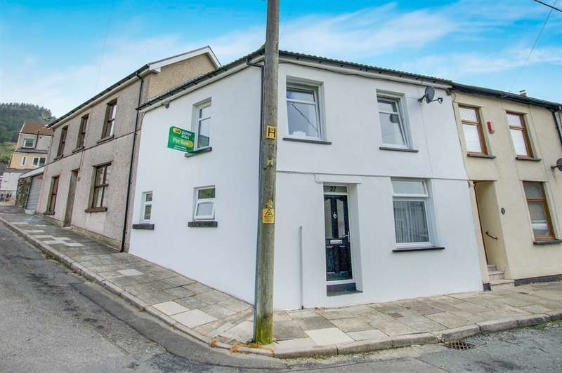 3 Bedrooms End Of Terrace House for sale in Railway Terrace, Blaenclydach, Tonypandy