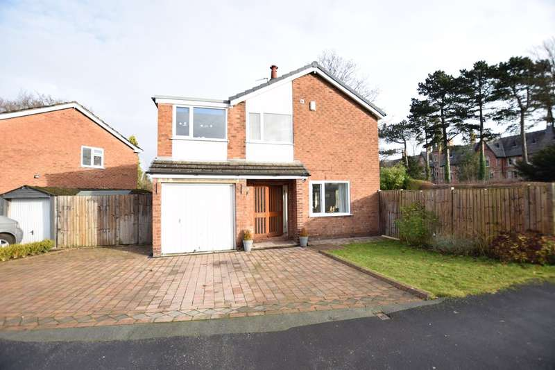 4 Bedrooms Detached House for sale in Moorland Drive, Cheadle Hulme