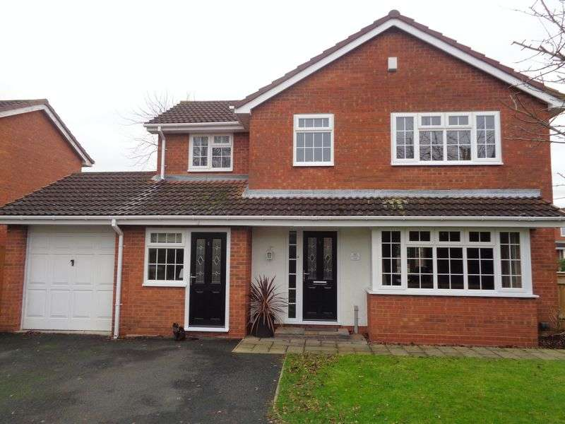 4 Bedrooms Detached House for sale in Lavender Walk, Evesham