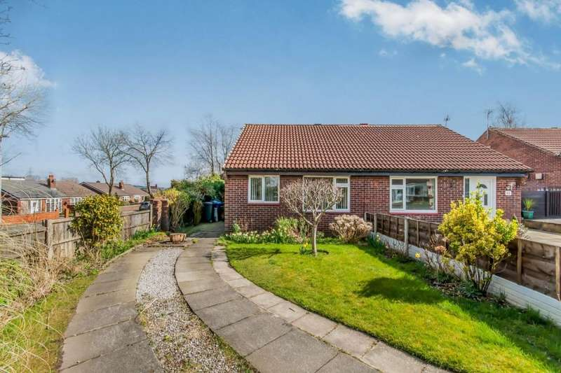 2 Bedrooms Semi Detached Bungalow for sale in Ashcombe Drive, Radcliffe, Manchester, M26
