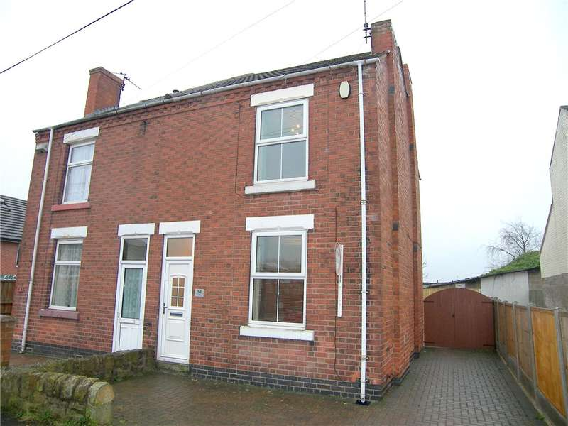 3 Bedrooms Semi Detached House for sale in Mill Street, Somercotes, Alfreton, Derbyshire, DE55