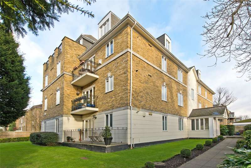 2 Bedrooms Flat for sale in The Terraces, 8 Lansdowne Road, London, SW20