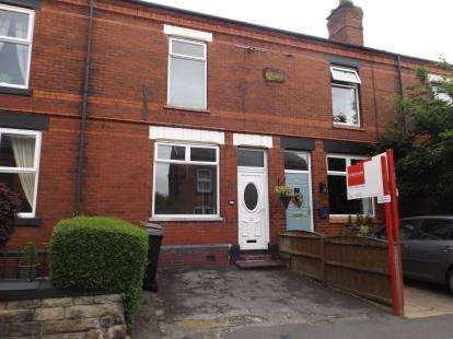 2 Bedrooms Terraced House for sale in Moorland Road, Woodsmoor, Stockport, Cheshire