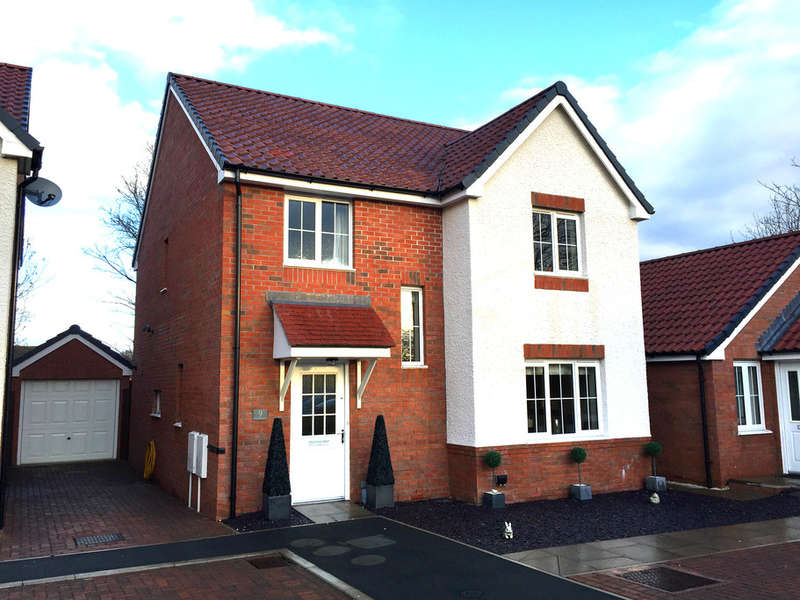 4 Bedrooms Detached House for sale in Outfield Drive, Malvern, Malvern, WR14