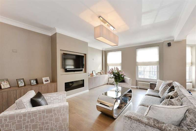 3 Bedrooms Flat for sale in South Lodge, London, NW8