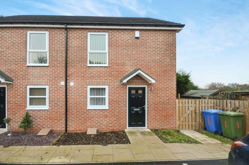 3 Bedrooms Semi Detached House for sale in 1 Wilmot Way, Worksop, S81 0FA