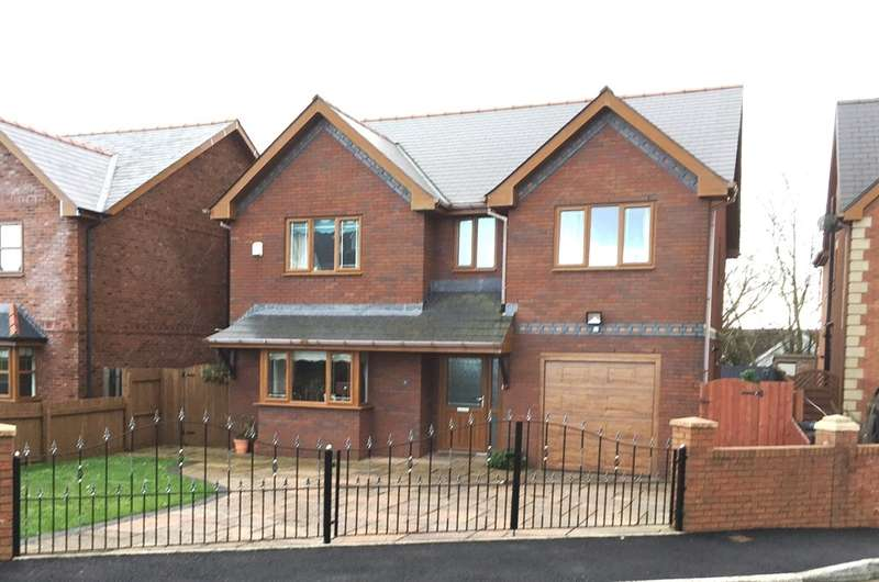 4 Bedrooms Detached House for sale in Maes Morgan, Nantybwch, Tredegar