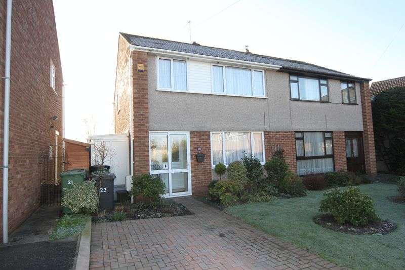 3 Bedrooms Semi Detached House for sale in Bibury Crescent, Bristol