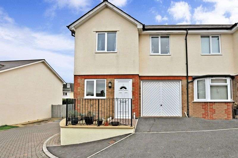 3 Bedrooms Semi Detached House for sale in Haytor Park, Kingsteignton