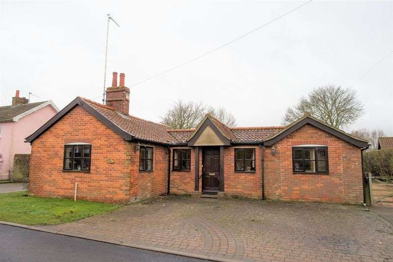 2 Bedrooms Detached Bungalow for sale in Stow Road, Ixworth