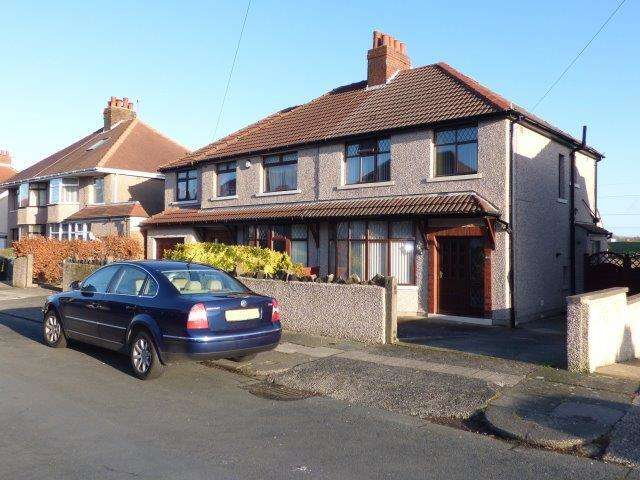 3 Bedrooms Semi Detached House for sale in Russell Drive, Torrisholme, Lancaster, Lancashire, LA4 6NS