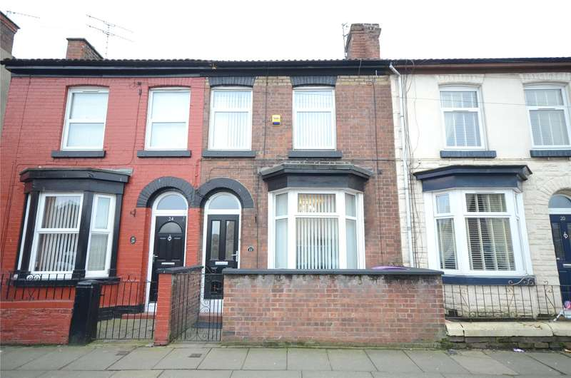 3 Bedrooms Terraced House for sale in Canterbury Street, Garston, Liverpool, L19