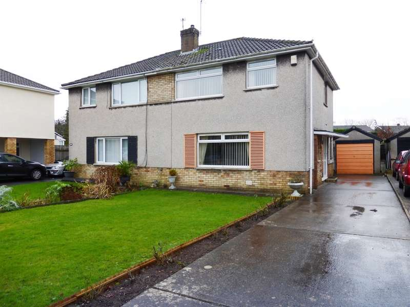 3 Bedrooms Semi Detached House for sale in Brookside, Dinas Powys