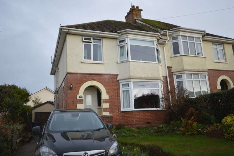 3 Bedrooms Semi Detached House for sale in Exeter Road, Exmouth, EX8