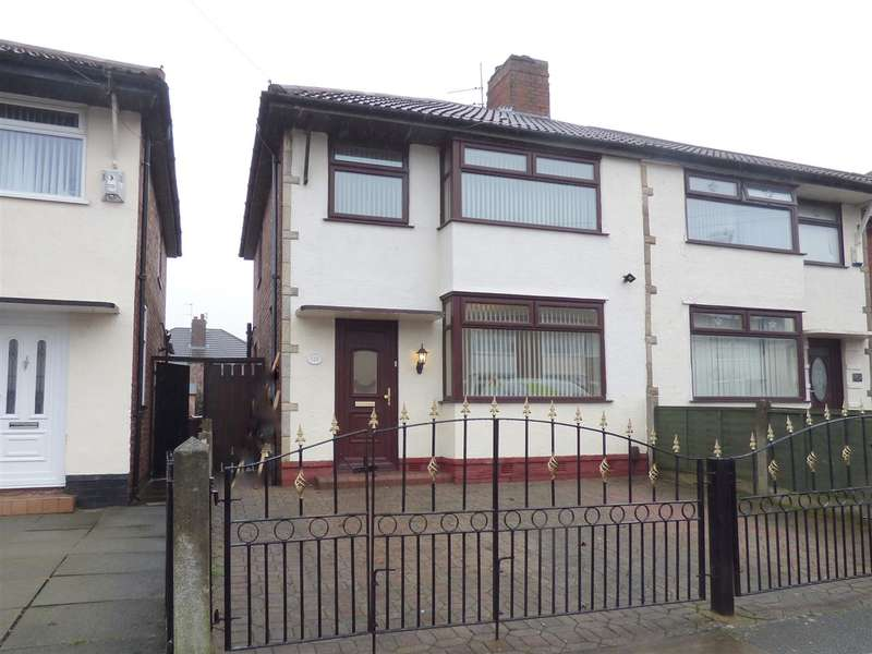 3 Bedrooms Semi Detached House for sale in Ashbourne Crescent, Huyton, Liverpool