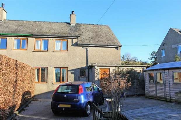3 Bedrooms Semi Detached House for sale in Middleshaw Crescent, Old Hutton, Kendal, Cumbria