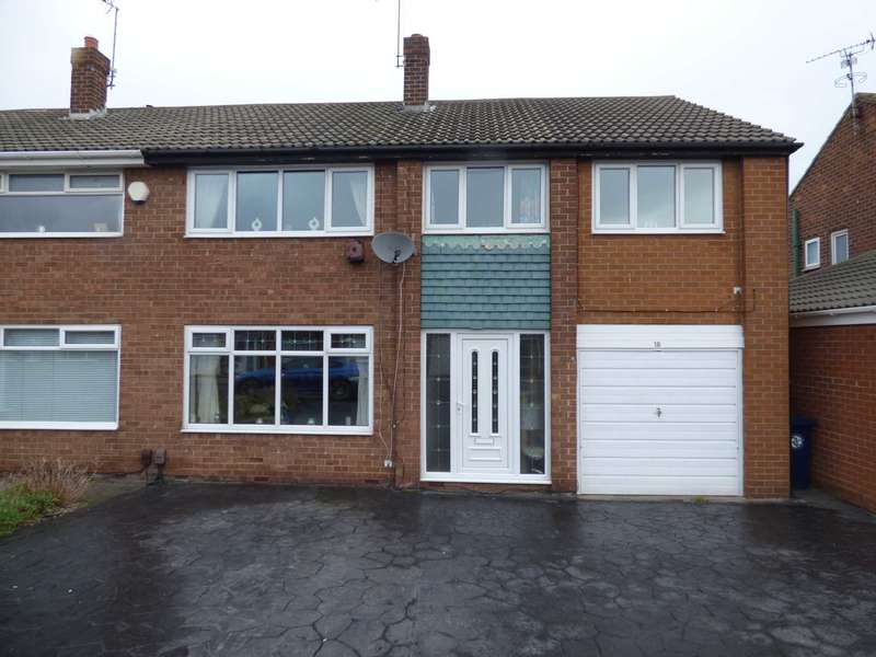 4 Bedrooms Semi Detached House for sale in Pentland Avenue, Redcar