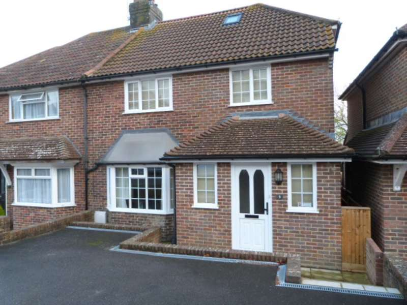 4 Bedrooms Semi Detached House for sale in Hamsey Crescent, Lewes