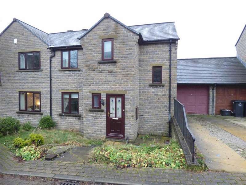 3 Bedrooms Property for sale in Moorlands Court, Greetland, Halifax, West Yorkshire, HX4