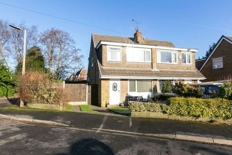 3 Bedrooms Semi Detached House for sale in Burnside, Parbold, WN8 7PE