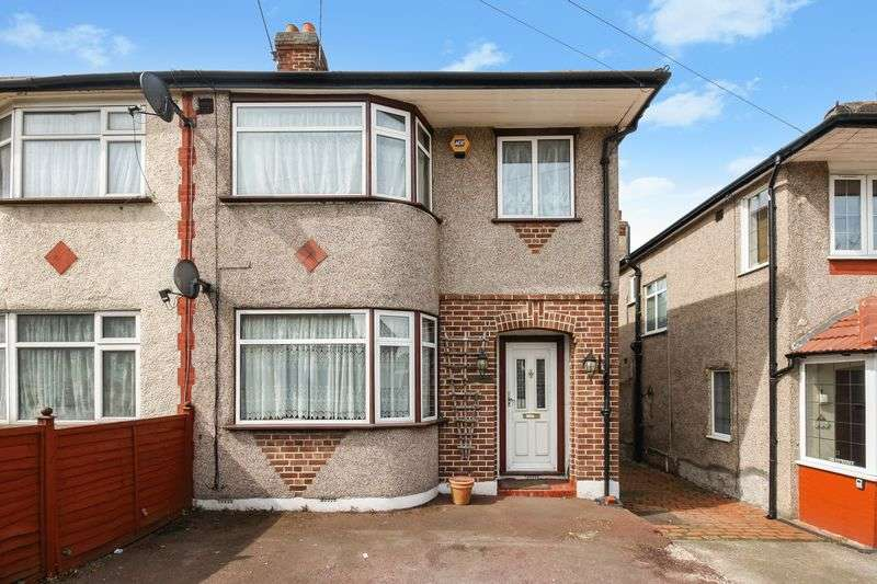 3 Bedrooms Semi Detached House for sale in Eastcote Lane, Northolt