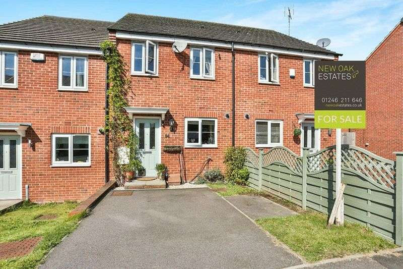 3 Bedrooms Terraced House for sale in East Street, Chesterfield