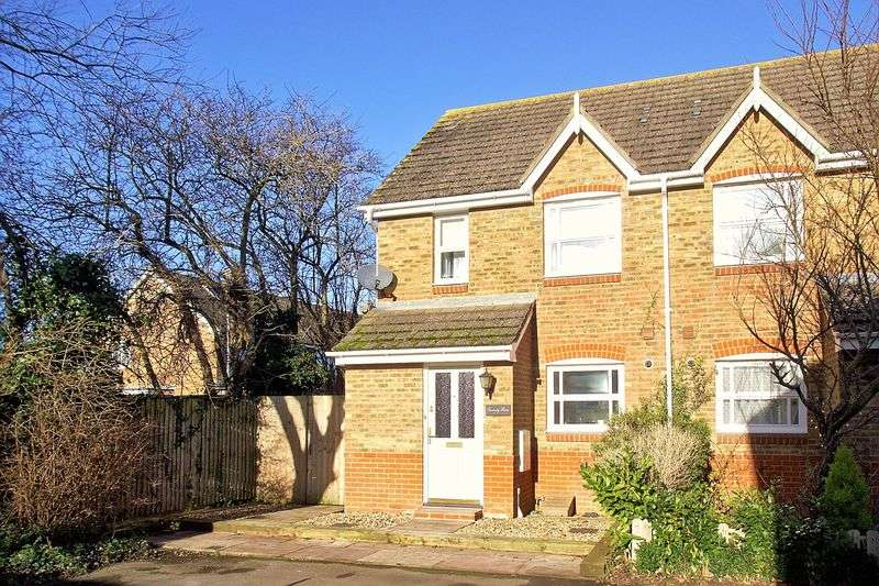 2 Bedrooms Semi Detached House for sale in Lime Avenue, Westergate, Chichester, PO20