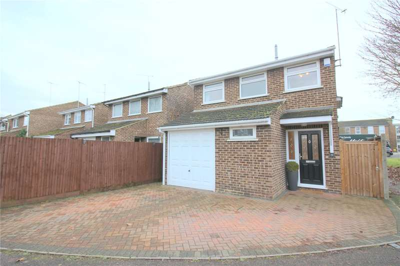 4 Bedrooms Detached House for sale in Wyedale, London Colney, St. Albans, Hertfordshire, AL2