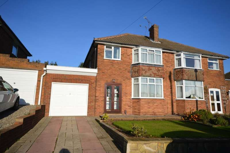 3 Bedrooms Semi Detached House for sale in Western Avenue, Sedgley, Dudley, DY3
