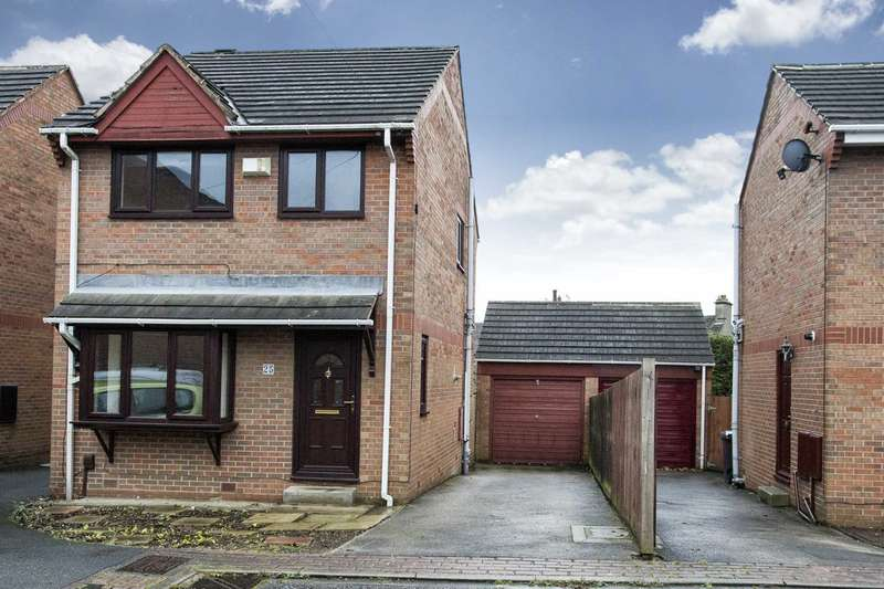 3 Bedrooms Detached House for sale in 25 Elder Croft, Bramley, Leeds, LS13 4BX