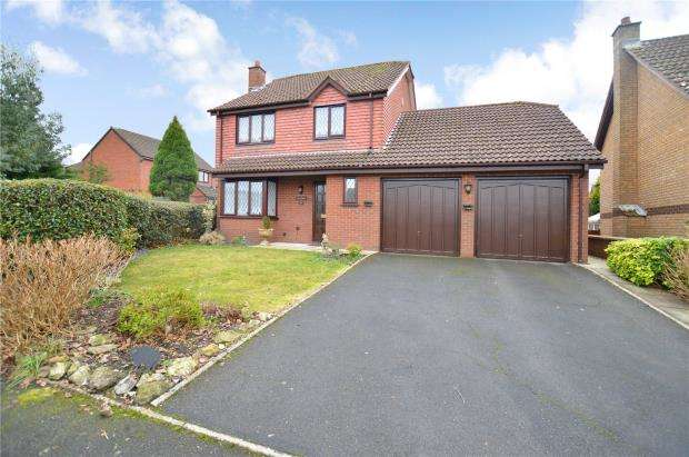 4 Bedrooms Detached House for sale in Lower Fern Road, Newton Abbot, Devon