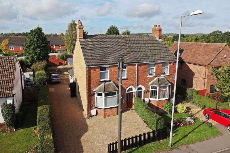 4 Bedrooms Semi Detached House for sale in Ampthill Road, Flitwick