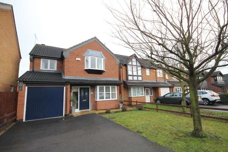 4 Bedrooms Detached House for sale in GLENMORE DRIVE, STENSON FIELDS