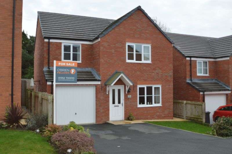 4 Bedrooms Detached House for sale in Cwrt Nuttall, Buckley
