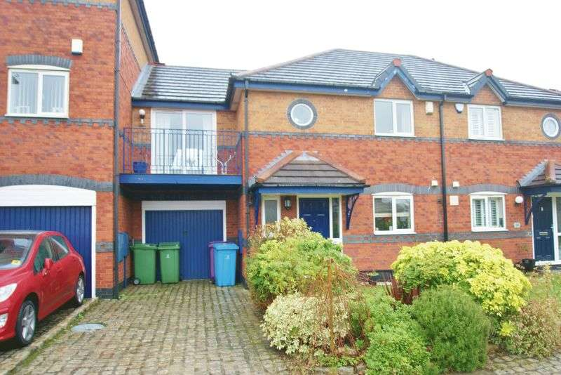 2 Bedrooms Terraced House for sale in Navigation Wharf, Liverpool