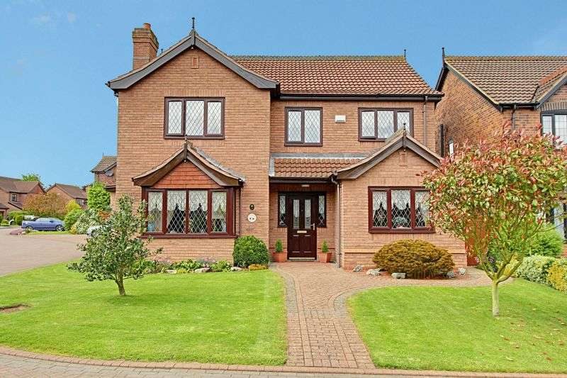 4 Bedrooms Detached House for sale in The Bridles, Goxhill