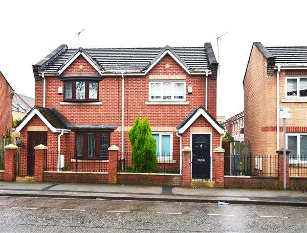2 Bedrooms Semi Detached House for sale in Royce Road, Hulme, Manchester