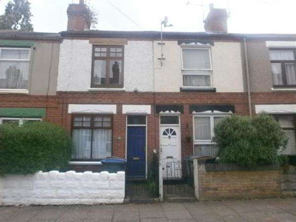 2 Bedrooms Terraced House for sale in Collingwood Road, Earlsdon, Coventry