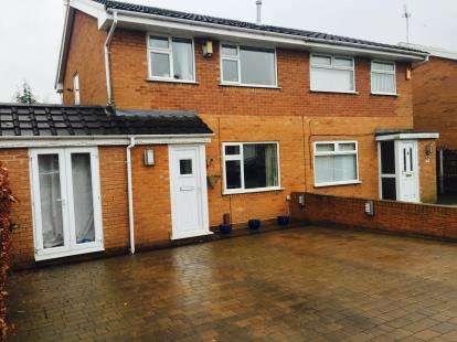 3 Bedrooms Semi Detached House for sale in Wenlock Road, Beechwood, Runcorn, Cheshire, WA7