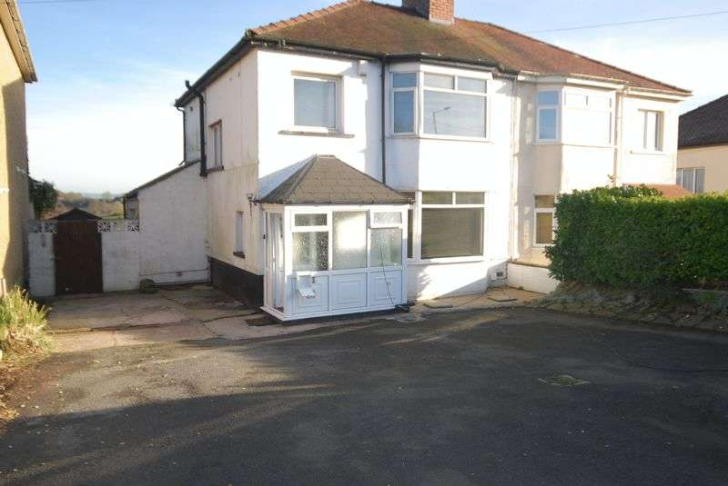 3 Bedrooms Semi Detached House for sale in SUPERB OUTLOOK - Glasllwch Crescent, Rogerstone