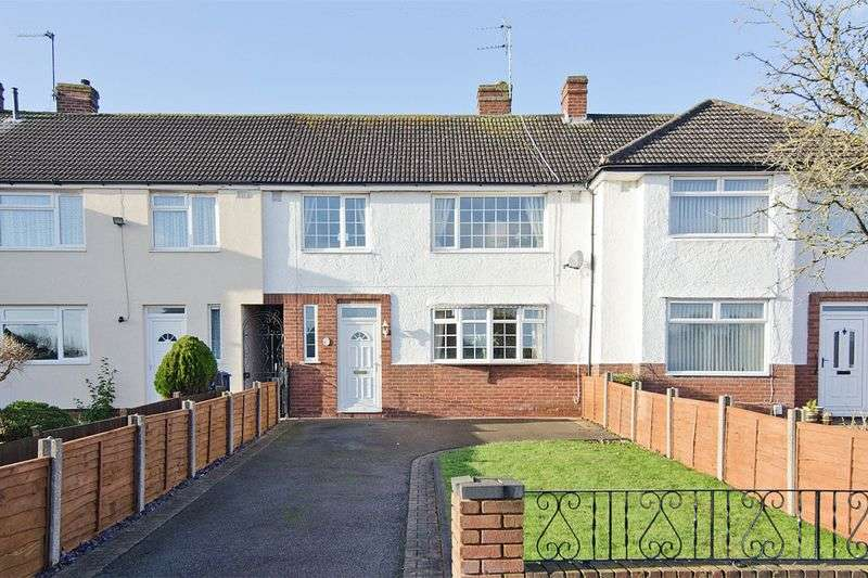 3 Bedrooms Terraced House for sale in Curborough Road, Lichfield