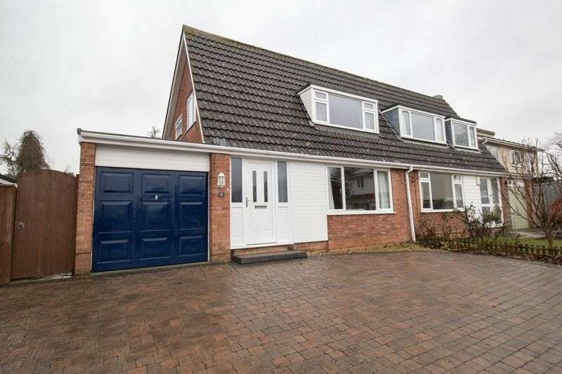 3 Bedrooms Semi Detached House for sale in Cherwell Road, Keynsham