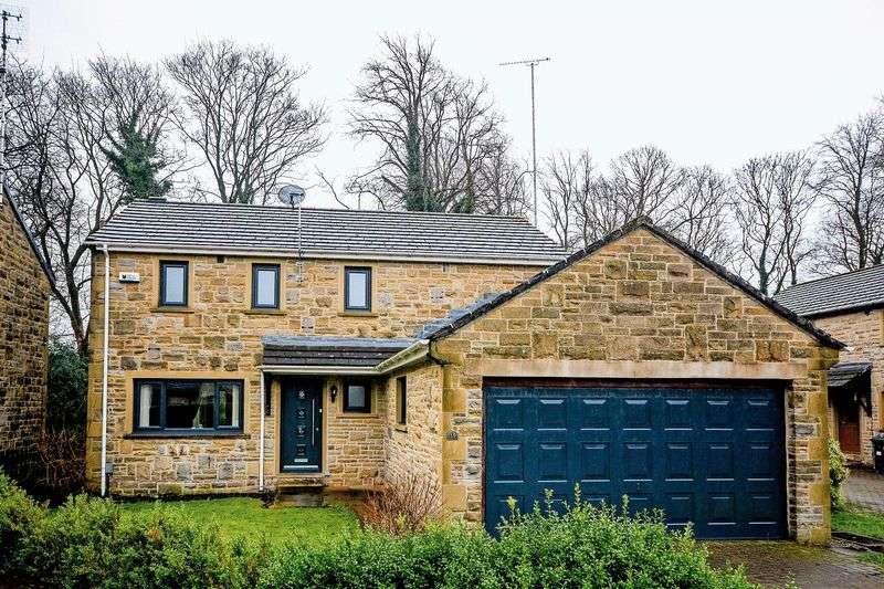 4 Bedrooms Detached House for sale in Cranmer Gardens, Holmfirth
