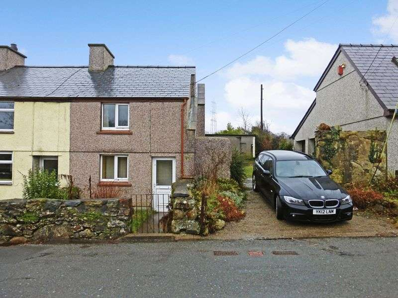 1 Bedroom Semi Detached House for sale in Llanllyfni